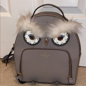 Kate Spade mini owl backpack